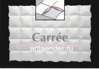 """Пуховое кассетное одеяло """"Carree"""""""
