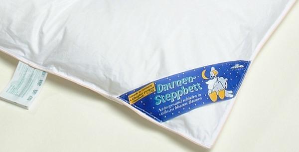 """Пуховое одеяло для новорожденного """"PLATINUM"""""""