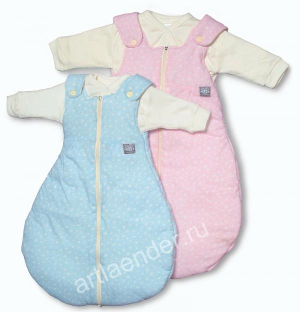 """Детский спальный мешок""""BabySafe Trolly""""цветной"""